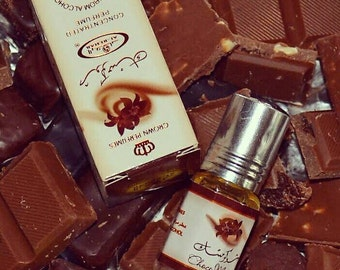 Choco musk perfume Arabic in oil in to the Rehab. Roll on. 3 ml.