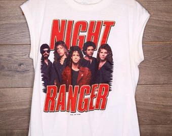 Vintage Original Night Ranger Shirt [0157]