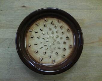 Wheel Thrown Garlic Grater