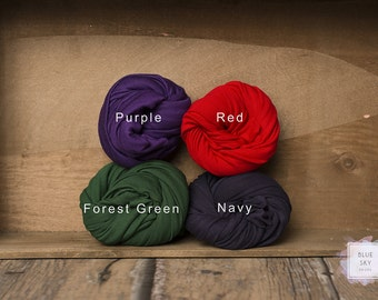 Jersey Knit Wraps, DELUXE size, Stretch Knit Wrap, Newborn Wrap, Baby Swaddle Wrap-Ready to ship!