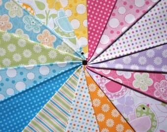 Baby Birds by Studio E Fabrics - Fat Quarter Bundle - 15 pieces