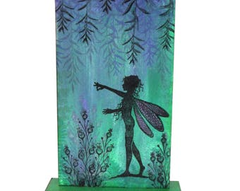 Fairy   MDF   Monolith   Mixed media   Hand stamped