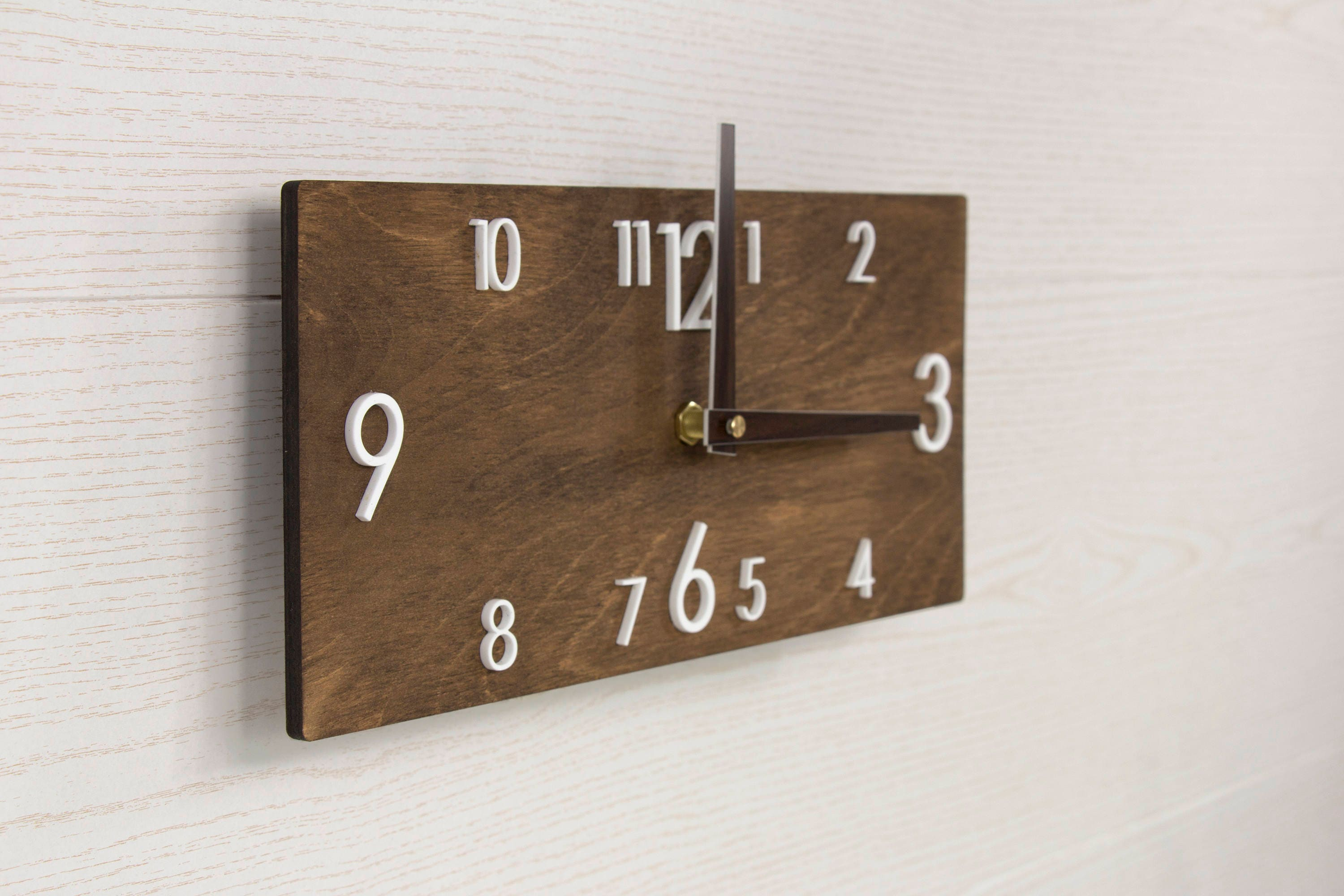 modern wall clock wooden wall clock wall clock wood. Black Bedroom Furniture Sets. Home Design Ideas