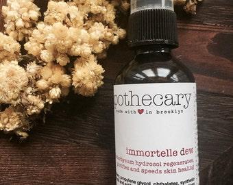 organic helichrysum hydrosol//immortelle hydrosol