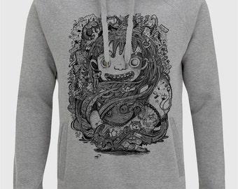 Qualitativer Hoody, Sweatshirt