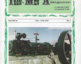 The Iron Men Album Magazine May-June 1982