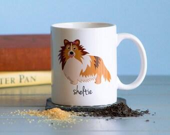 Sheltie Mug (girl)