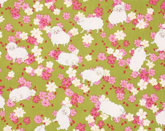 Oxford Sheep Patterned Fabric Kids Cute Fabric made in Korea by the Half Yard