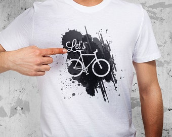 1009 T-Shirt, Lets ride a bike, bicyclist
