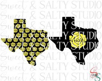 yellow rose of texas (2 types) digital file
