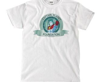 Captain Planet Foundation - White T-shirt