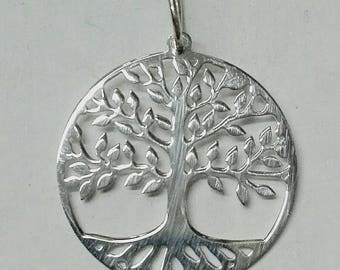 Hanging tree of life, of Sterling 925 mm