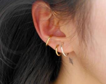 clips for ears not pierced, multiple ways to wear, gold and silver, earrings, jewelry for ears, BijouxMinimalist