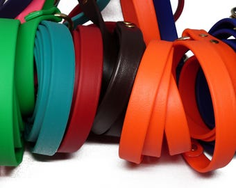 K9 Gummy Dog Training Leash - Every Day Leash Made Here in the USA - Biothane - Many Colors and Widths