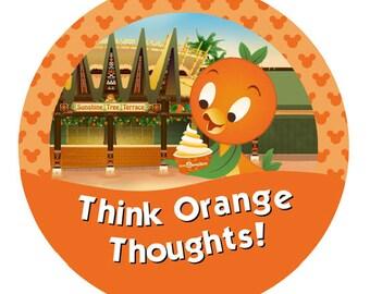 Think Orange Thoughts! – Orange Bird