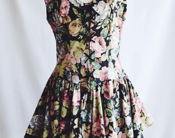 Dress flowers Corset.