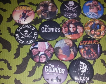 13 Goonies Button Set