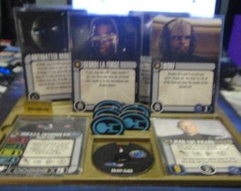 Star Trek Attack Wing Ship Dashboard 2 pack
