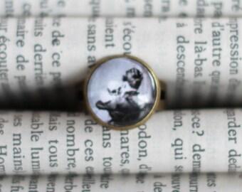 Ring bronze Devil