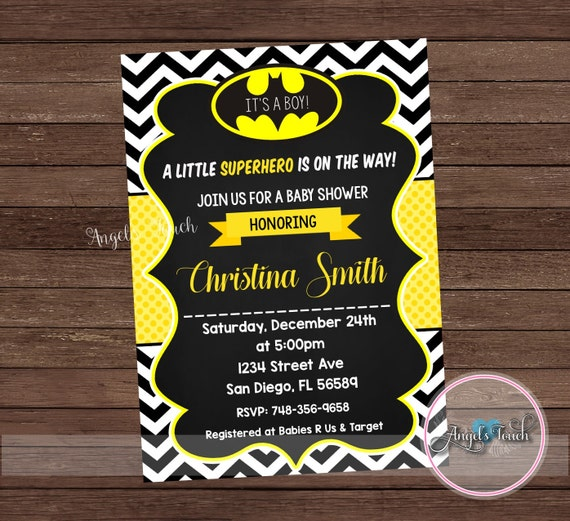 baby shower invitation batman baby shower invitation batman baby