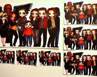 Lucifer season 1 group sticker
