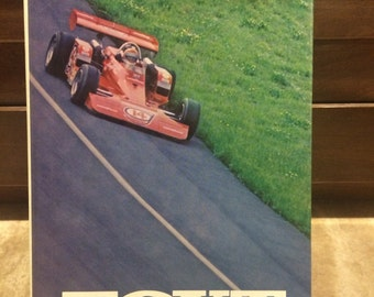 FOYT by Bill Libby 1974 Hardcover