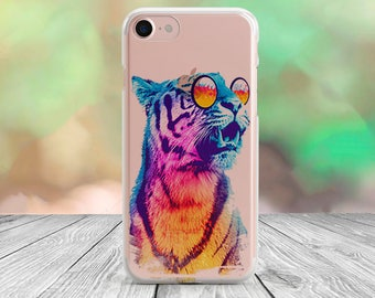 Tiger iPhone 7 case clear iPhone 7 Plus case clear iPhone 6s case iPhone 6 case iPhone 5 case iPhone 5s case iPhone 5C case iPhone SE case