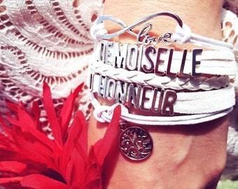 BRIDESMAID bracelets. (custom)