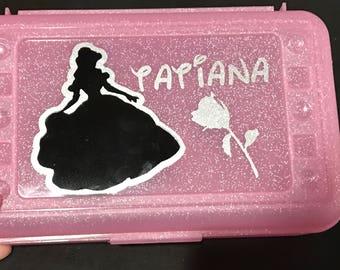 Personalized school box, pencil case