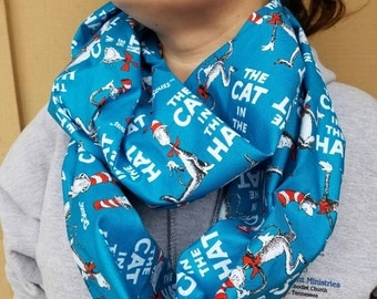 Cat in the Hat Infinity Scarf