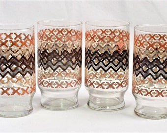 Set of 4 dinner glasses/ Dinner Glasses