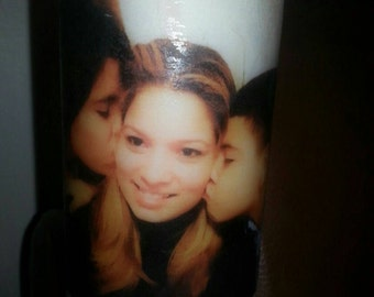 Custom Candles.. Any pictures, design and color of your choice. Perfect for everyday gift.