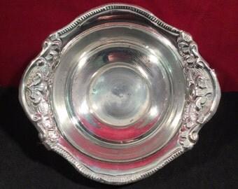 Antique Silver Dish - Continental - Solid Silver - Bonbon
