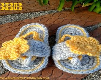Baby Flip-Flops Handmade