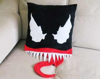Marvel Venom Face Plush Pillow