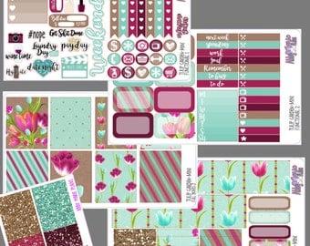 Tulip Garden- Mini Sticker Kit
