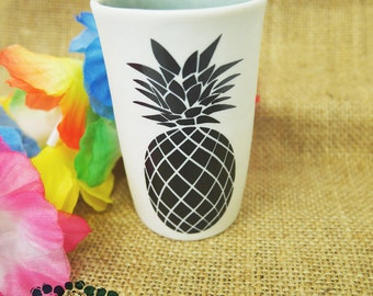 "Coffee mug or tea ""pineapple"""