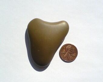 Unique rare genuine sea beach stone pebble rock. Heart 49x43x12mm