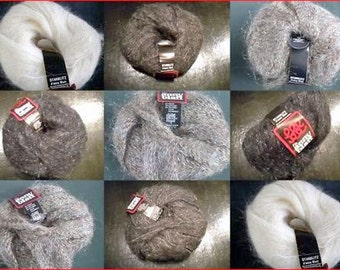 "Effect yarn ""Anny Journal Star Flash ' fine mohair mix glamour vintage"