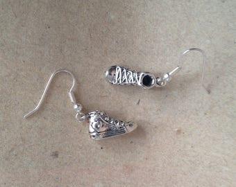 Sneakers, Chucks, Converse Earrings silver