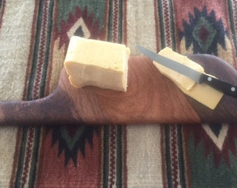 Mesquite cheese board, bread board or cutting board
