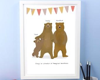 Personalised Grandparents Prints