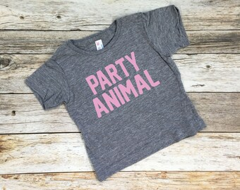 Party Animal Shirt. Birthday Shirt. Birthday Tee. Birthday Party. Party Animal.