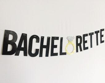 Bachelorette Glitter Banner