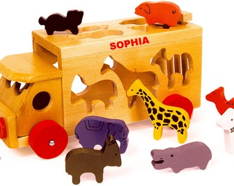 Personalised Animal Shape Sorter