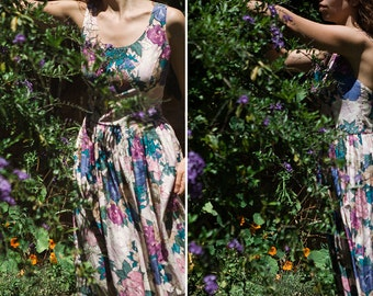 60s Floral Dress ~ On Sale ~