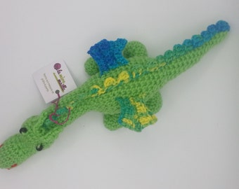 READY-to-go: great dragon Doggie - Lime, yellow, blue, green