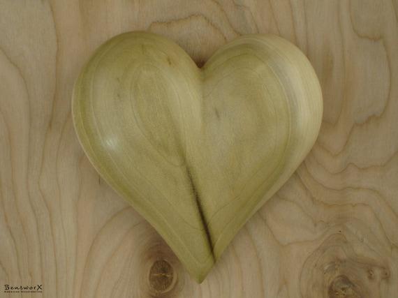 "I Love YOU | ""Beautiful"" Poplar Wall Heart | Bentworx™"