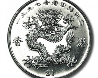 Liberia 1 Dollar Year of the Dragon 1997 38mm