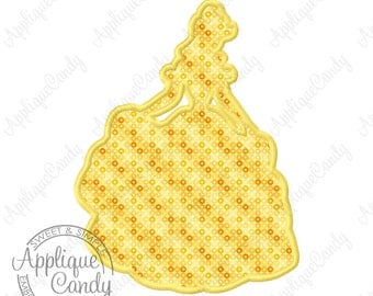 Beauty and the Beast Silhouette Applique Machine Embroidery Design Digital File 4x4 5x5 5x7 6x10 7x12 belle bell bele bel INSTANT DOWNLOAD